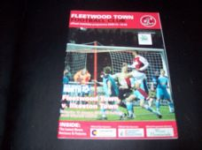 Fleetwood Town v Ilkeston Town, 2009/10